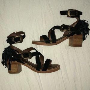 Matisse fringe sandal